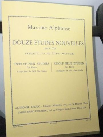 Maxime-Alphonse - 12 New Studies (from the 200 New Studies)